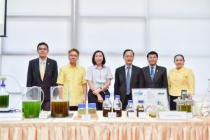 "KKU promotes clean energy from alga mass or ""hythane"", a new environmental friendly energy source"