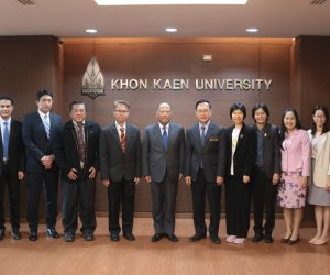 KKU administrators discuss collaboration with Mitsubishi Company (Thailand) Ltd. to develop technological and innovative collaboration