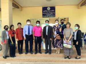 Bureau of Academic Service, KKU discusses collaboration under the 'One Tambon One University' Project with Kud Khao Sub-district, Manja Khiri District