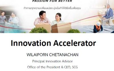Innovation Accelerator By SCG