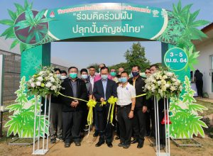 "KKU holds a forum on ""Dreaming together for Thai hemp development"""